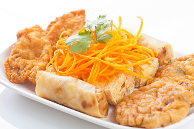 Mixed Thai Appetizers