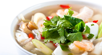 Catering with Tom Yum Soup